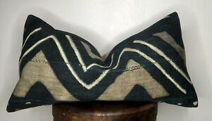 Authentic Mali Mud Cloth  Throw Pillow Covers
