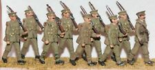 8 soldiers & 1 Officer (1908-37) (OO Scale) - Unpainted - Langley F49