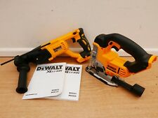 DEWALT 18V XR DCH133 3 MODE SDS HAMMER DRILL + DCs331 JIGSAW BARE UNITS