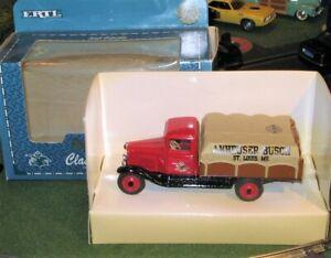 Ertl 2193 Anheuser-Busch Classic Vehicles 1930 Chevy Truck 1/43 Diecast MIB