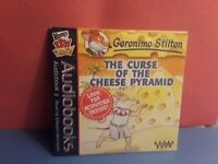 Geronimo Stilton - The Curse of the Cheese Pyramid Wendy's Audiobook (CD) New