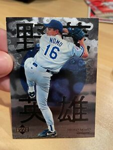 1996 Upper Deck Baseball Hideo Nomo Highlights Card 3 of 5 Dodgers Mint!