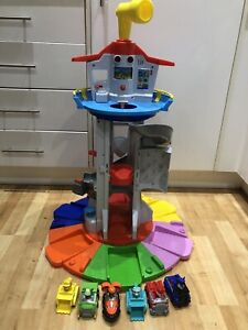 Paw Patrol My Size Lookout Tower + 6 Vehicles Removable Figures