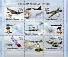 Guinea Bissau 2005 World War II  military aviation