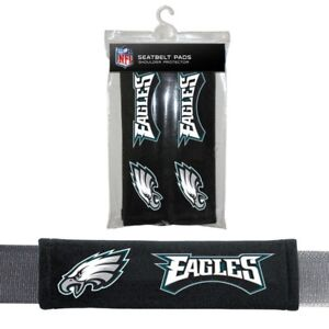 Philadelphia Eagles Seat Belt Shoulder Pad Covers