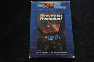 Rescue On Fractalus Atari XE/XL Boxed