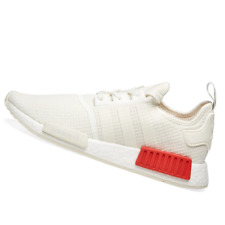 ADIDAS MENS Shoes NMD_R1 - Off White & Lush Red - B37619
