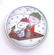 Snap It Button Charm Fits Ginger Snaps Style Jewelry