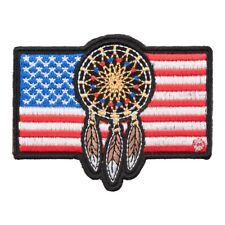 Dreamcatcher American Flag Patch, Patriotic US Flag Patches