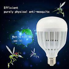 New 18W Powered UV Mosquito Bulb Zapper Killer Bug Trap LED Garden Light Lamp