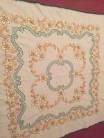 Vintage German Pure Cotton Tablecloth