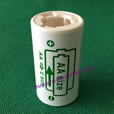 1pc AA size to C type converter spacer adapter LiFePO4 Li-ion Ni battery holder