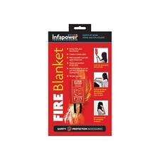 INFAPOWER X012 Hogar Seguridad 1 metros Montaje en Pared Fuego de fibra de vidrio manta-Nuevo