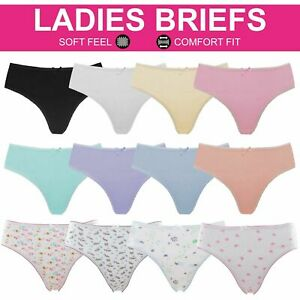 Girls Ladies Bikini Briefs Womens Panties Cotton Rich Knickers Underwear Pants