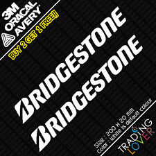 2 x Bridgestone Tyre Sticker Vinyl Car JDM skyline silvia EK9 EP3 S2000