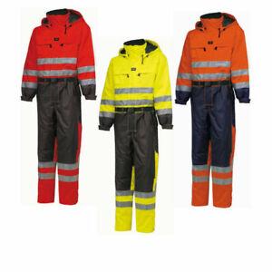 Helly Hansen Ludvika Class 3 Hi Viz insulated  Waterproof Suit / Coverall