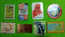 U.S Poster Stamp Lot Of 8