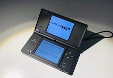 Nintendo DSi Handheld Spielkonsole - Mattschwarz mit OVP - Top Zustand
