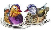 Mandarin Ducks by Swarovski Crystal - NIB - #5265586