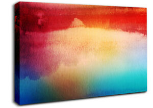 River Reflections 2 Abstract 19114 Canvas Print Wall Art