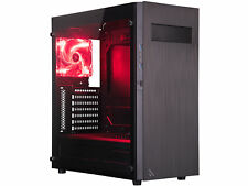 ROSEWILL Gaming Mid Tower Computer Case with Tempered Glass Window METEOR XR