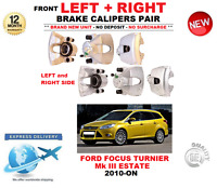 FOR FORD FOCUS TURNIER FRONT LEFT + RIGHT BRAKE CALIPER 2010->ON 1.0 1.5 1.6 2.0