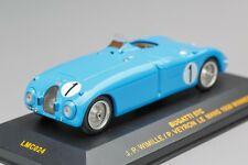 Bugatti T57C #1 J.P.Wimille/Pierre Veyron Winner LM 1939 IXO 1:43