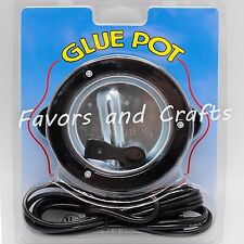 Electric Hot Glue Pot Skillet Melting Stick Ribbon Craft Supplies