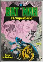 Batman Superband Nr.23 von 1986 - Z1-2 ORIGINAL ERSTAUFLAGE EHAPA COMICALBUM