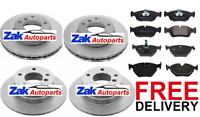 BMW Z4 E85 2.0 2.2 2.5 (2003-2009) FRONT AND REAR BRAKE DISCS AND PADS SET *NEW*