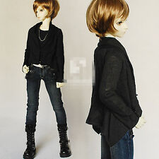 Cool Drape Casual Jacket Coat for 1/4 MSD 1/3,SD17 Uncle BJD Doll Clothes CMB8