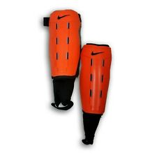 Official Nike Shinguard with Re forced Tibia Orange Color Size M
