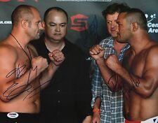 Fedor Emelianenko & Scott Coker Dan Henderson Signed UFC 11x14 Photo PSA/DNA COA