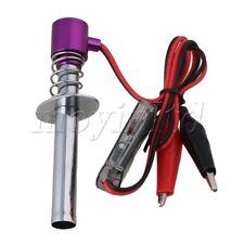 Purple Metal 6V -24V Nitro RC Car Electronic Glow Plug Starter Upgraded Ignite