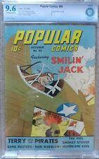 POPULAR COMICS #80 CBCS 9.6 NM+ 10/1942