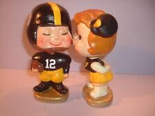 Custom Pittsburgh Steelers Kissing Pair Bobblehead Nodder Bobbin Head Football