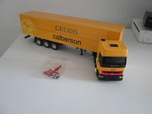 Camion Renault + Semi 3 Ess Fourgon CALBERSON  1/43 Eligor