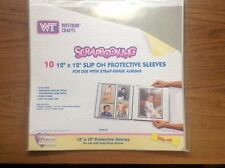 Westrim 12 x 12 Slip on page Protectors 10 sheets
