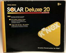 Knex Solar Deluxe 20 19403 / 29403 94 Page Instruction Manual (20 Models)
