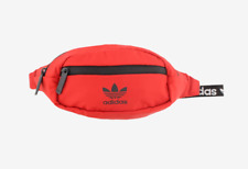 🔥🔥 ADIDAS ORIGNALS WAIST PACK FANNY SCARLET/BLACK NWT IN HAND AUTHENTIC USA