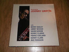 "RARE JAZZ LP ""IL OSCILLANTE Johnny Griffin"" REGNO JAZZ 1987 VINILE LP Ex/Ex"