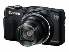 Canon PowerShot SX700 HS 16.1MP Digital Camera - Black Tested Works Great