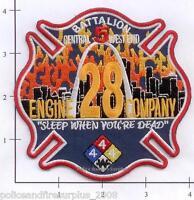 Missouri - St Louis Engine 28 Battalion 5 MO Fire Dept Patch