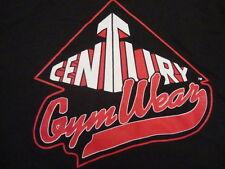vintage Century Gym Wear Rare bodybuilder bodybuilding powerlifting T shirt S