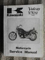 1985 1990 1993 94 1996 Kawasaki Vulcan VN750 Twin Service Repair Shop Manual OEM