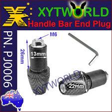 PJ0006 Handle Bar End Plugs weight Motor Dirt Bike ATV Honda Yamaha Kawasaki KTM