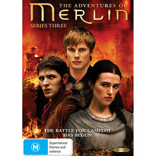 The Adventures of Merlin - Complete Series Season 3 DVD R4 Box Set 5 Discs New