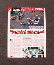 [GCG] AP04 - Clipping-Ritaglio -1997- GT SUZUKA , NANNINI SAMURAI