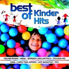 BEST OF KINDER HITS   CD NEU NENA/DJ ÖTZI/LENA/PSY/+