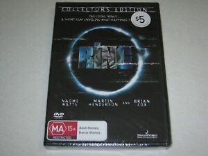 The Ring - Collector's Edition - Brand New & Sealed - Region 4 - DVD